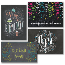Chalkboard Occasions Assortment Pack